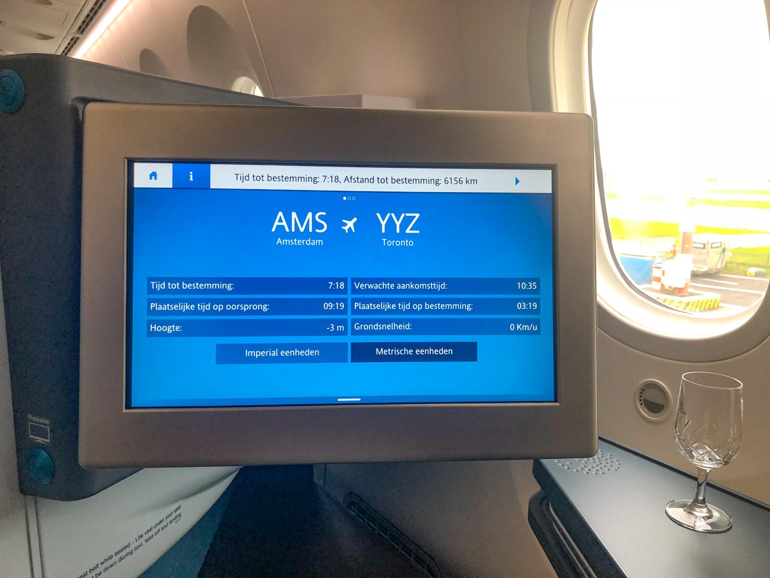 Je kunt onder andere met KLM naar Toronto vliegen