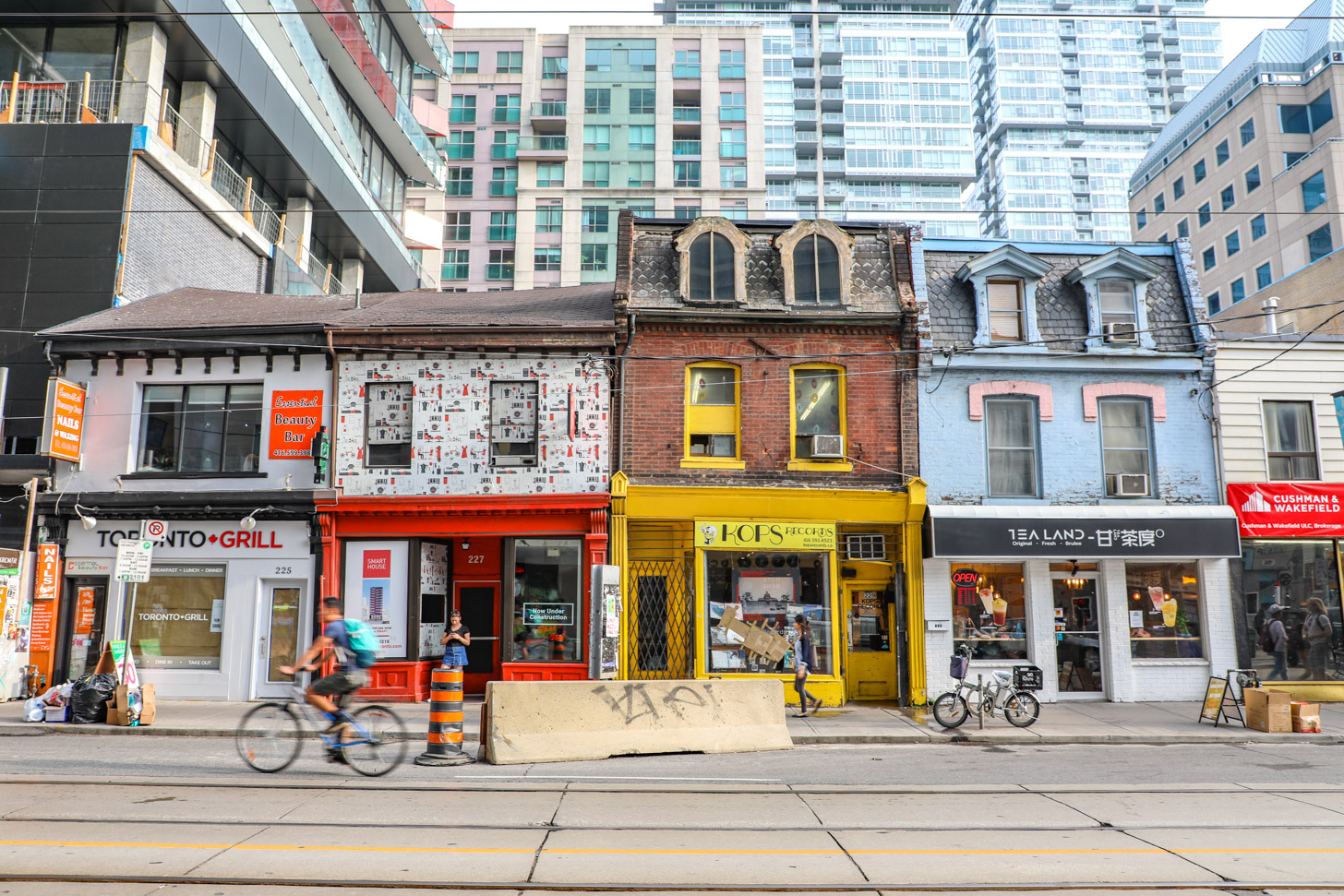 Straatbeeld van Toronto.